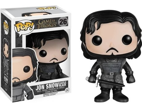 Figura Vinil FUNKO POP! Game of Thrones: Jon Snow Castle Black — Game Of Thrones