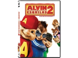 DVD Alvin E Os Esquilos 2 (De: Betty Thomas) — De: Betty Thomas | Com: Jason Lee, Zachary Levi, David Cross
