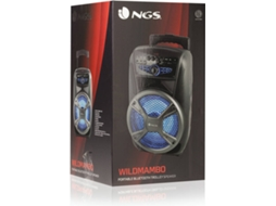 Coluna Bluetooth NGS Wildmambo — Bluetooth | 35W