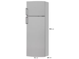 Frigorífico SIEMENS iSensoric KD46NVI20 — A+ | Low Frost | Refr. 294 L Cong. 77 L