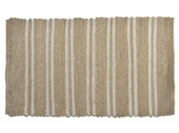 Tapete ITEM Riscas 90x60 Natural — Tropical