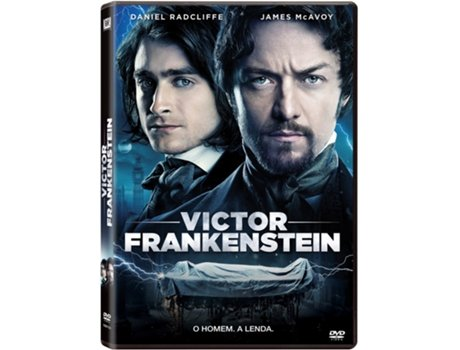 DVD Victor Frankenstein — De: Paul McGuigan | Com:  Daniel Radcliffe, James McAvoy, Jessica Brown Findlay