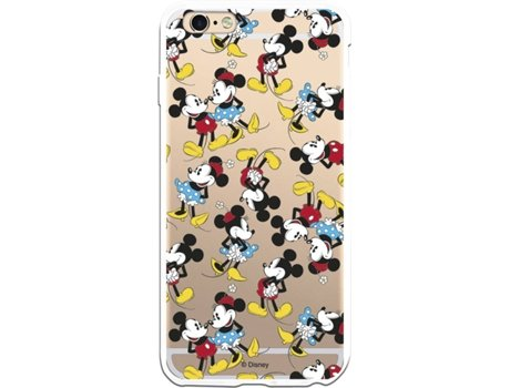 Capa iPhone 6 Plus, 6s Plus LA CASA DE LAS CARCASAS DISNEY Mickey e Minnie Multicor