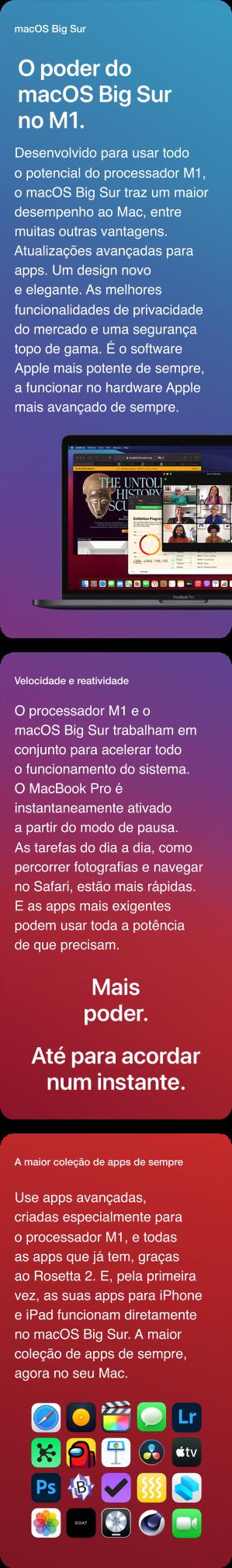 MacBook Pro 13'' MacOS Big Sur M1
