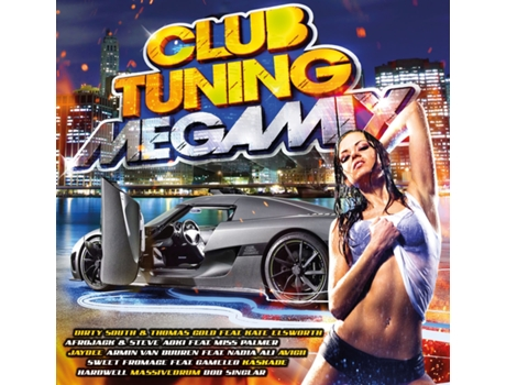 CD Club Tuning Megamix — House / Electrónica