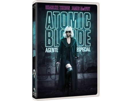 DVD Atomic Blonde - Agente Especial — De: David Leitch  / Com: Charlize Theron, James McAvoy, John Goodman