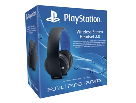 Auscultador Gaming SONY PS4 Stereo 2.0