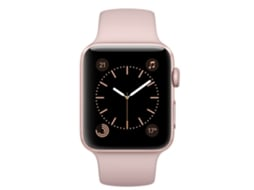 Apple Watch APPLE Series 2 38 mm Rosa Dourado — Bluetooth 4.0 e Wi-fi | 273 mAh | iOS
