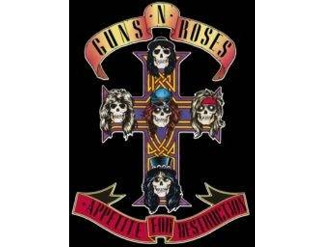 Vinil LP Guns n' Roses - Appetite For Destruction (Remasterizado) — Pop-Rock