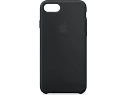 Capa APPLE Silicone iPhone 7, 8 Preto — Compatibilidade: iPhone 7, 8