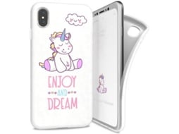 Capa I-PAINT Soft Dream iPhone X Branco — Compatibilidade: iPhone X