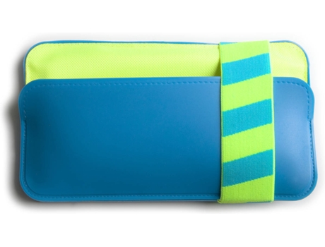 Capa WALLETBED Rubber Azul — Universal