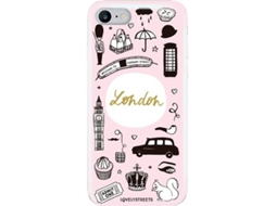 Capa LOVELY STREETS Viagem London iPhone 7, 8 — Compatibilidade: iPhone 7, 8