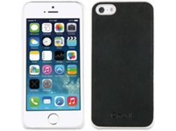 Capa iPhone 5, 5s, SE MUVIT Magnet Back Case Preto — Compatibilidade: iPhone 5, 5s, SE