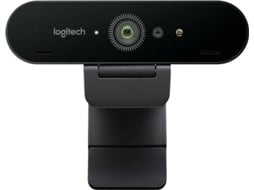 Webcam LOGITECH Brio 960-001105 — Para Windows/Mac | USB | 4K Ultra HD