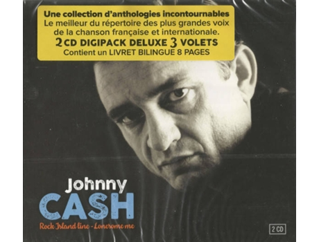 CD Johnny Cash - Rock Island Line - Rock Island Line (1CDs)