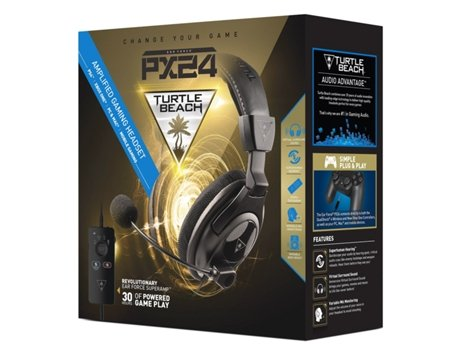 Auscultadores PS4 PX24 Turtle Beach Ear Force SuperAmp — PS4 | Com micro