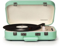 Gira-Discos BT CROSLEY Coupe Teal — Manual | 33 1/3 - 45 - 78 rpm
