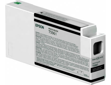Tinteiro EPSON 350Ml Sp7900/990 Preto Foto (C13T596100) — Photo