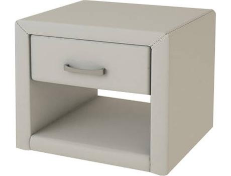 Mesa De Cabeceira Csd Luxe Branco Wortenpt