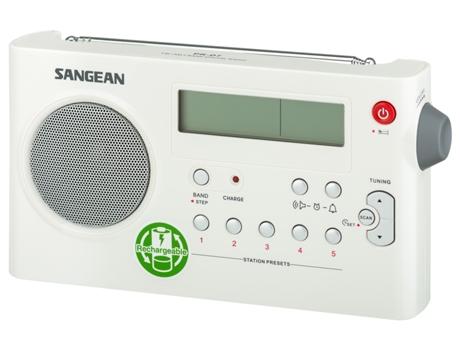 Rádio Portátil SANGEAN PR-D7 Branco