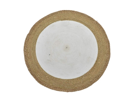 Tapete ITEM Fibra 100x100 circular Cast — Tropical