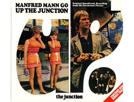 CD Manfred Mann - Up The Junction (Original Soundtrack Recording From The Paramount Picture)