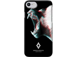Capa MARCELO BURLON 3D Seraf iPhone 6, 6s, 7, 8 — Compatibilidade: iPhone 6, 6s, 7, 8
