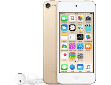 Leitor MP5 APPLE iPod Touch 128GB Dourado — 128GB