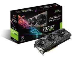Placa Gráfica Asus ROG Strix GeForce GTX 1080 8GB OC — GeForce GTX 1080 / 1784 MHz / 8GB DDR5X