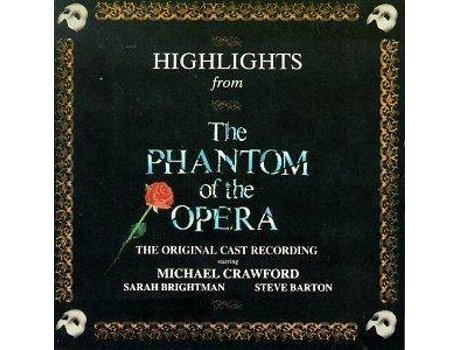 CD The Phantom of The Opera Highlights (OST) — Banda Sonora