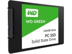 Disco Ssd WESTERN DIGITAL Green 120GB 3D Wds120G2G0A — SSD Interno | 120GB | SATA