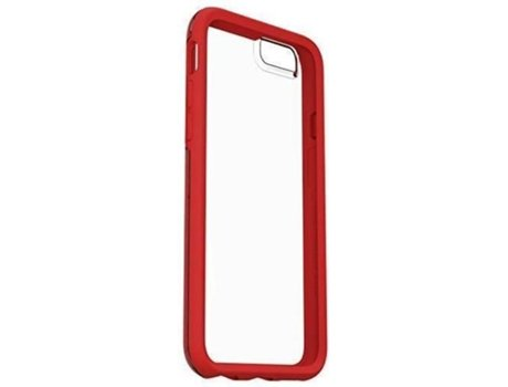Capa iPhone 6, 6s, 7, 8 OTTERBOX Symmetry Scarlet Crystal Vermelho — Compatibilidade: iPhone 6, 6s, 7 ,8