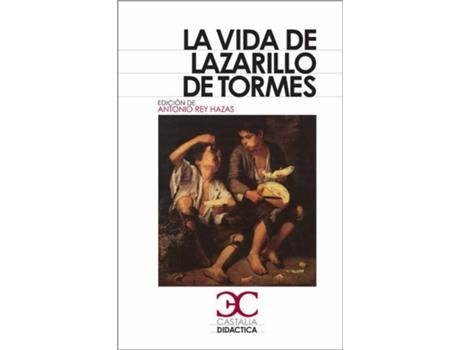 Livro La Vida Del Lazarillo De Tormes