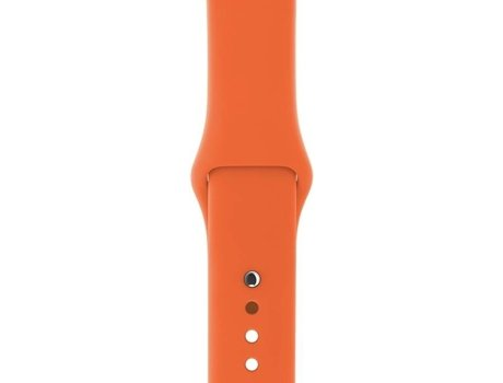Bracelete APPLE Sport Band S/M & M/L 38mm Spicy Laranja — 38 mm