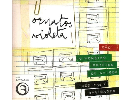 CD Ornatos Violeta - Ornatos Violeta — Pop-Rock