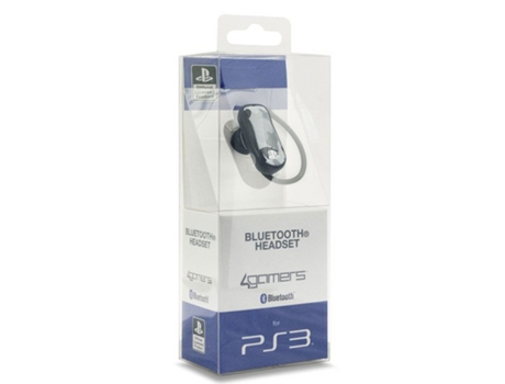 Auscultador Gaming 4GAMERS Mono Bluetooth CP-BT01 — PS3 | Bluetooth