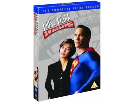 DVD Lois e Clark - Aventuras do Superhomem — De: Joe Shuster, Jerry Siegel | Com: Dean Cain, Teri Hatcher