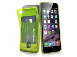 Capa SBS Fluocard iPhone 6, 6s Verde — Compatibilidade: iPhone 6, 6s