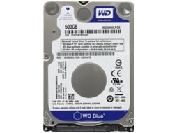 Disco Interno 2.5'' WESTERN DIGITAL 500GB Caviar Blue WD5000LPCX — 2.5'' | 500 GB | SATA3 6 Gb/s