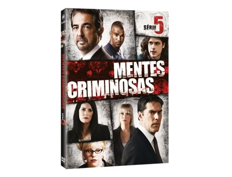 DVD Mentes Criminosas - Temporada 5 — Do realizador Jeff Davis