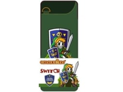 Bolsa Nintendo Switch Slim Zelda Caveiras — Nintendo Switch