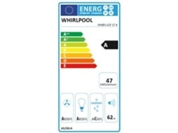 Exaustor de Parede WHIRLPOOL WCollection WHBS 62F LT K — 155 a 735 m3/h | 38 a 62 dB | A
