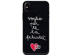 Capa SILVIA TOSI Embroidered Felic iPhone X — Compatibilidade: iPhone X