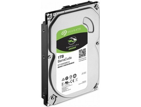 Disco interno 3.5'' Seagate 1TB Barracuda — 3.5'' | 1TB | SATA, ATA serial II, ATA serial
