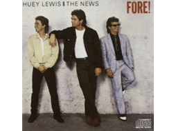 CD Huey Lewis & The News - Fore! — Pop-Rock