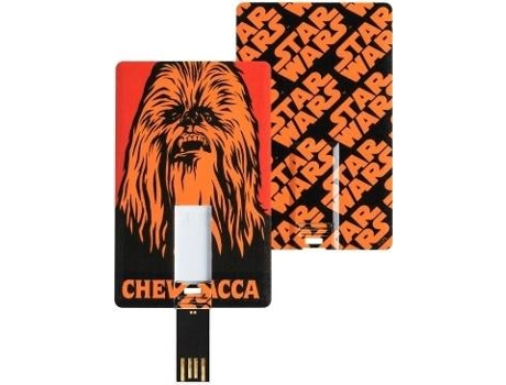 Pen USB Card TRIBE Star Wars Chewbacca 8GB — 8 GB | USB 2.0