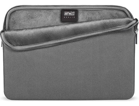 Bolsa ARTWIZZ Neoprene MacBook 12'' Cinzento — 12''