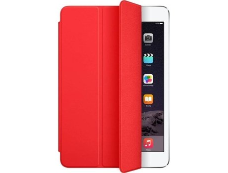 Capa Tablet APPLE iPad Mini Smart Cover (iPad Mini - Vermelho) — 7.9''