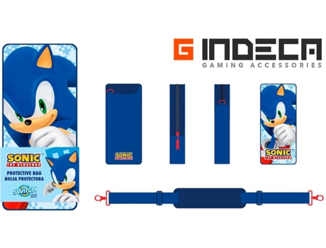 Bolsa Portátil Sonic para Nintendo Switch — Nintendo Switch